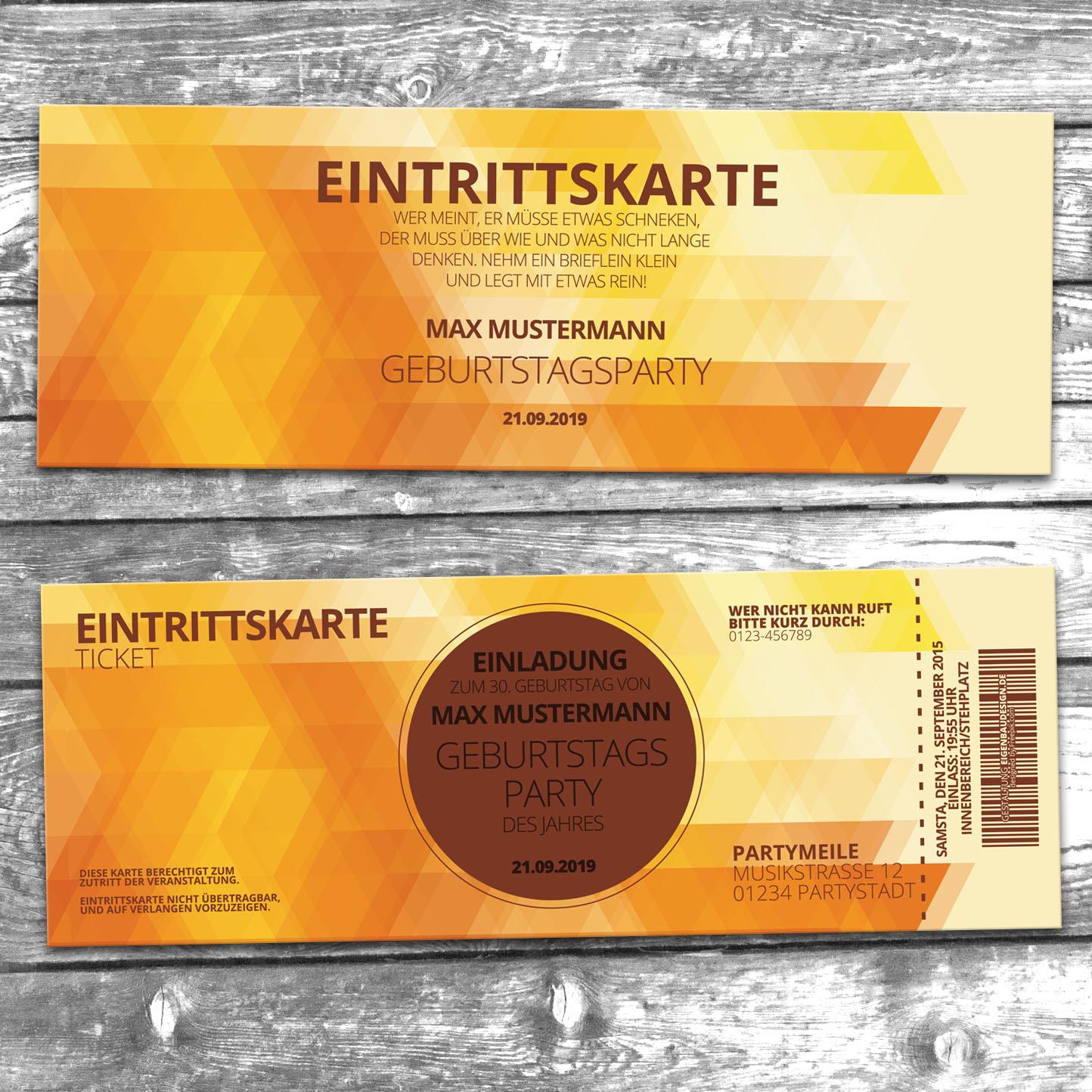 Party Einladungskarten
