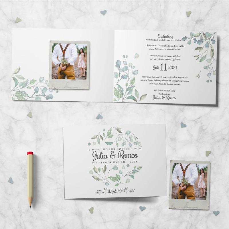 Einladungskarte Hochzeitsmomente