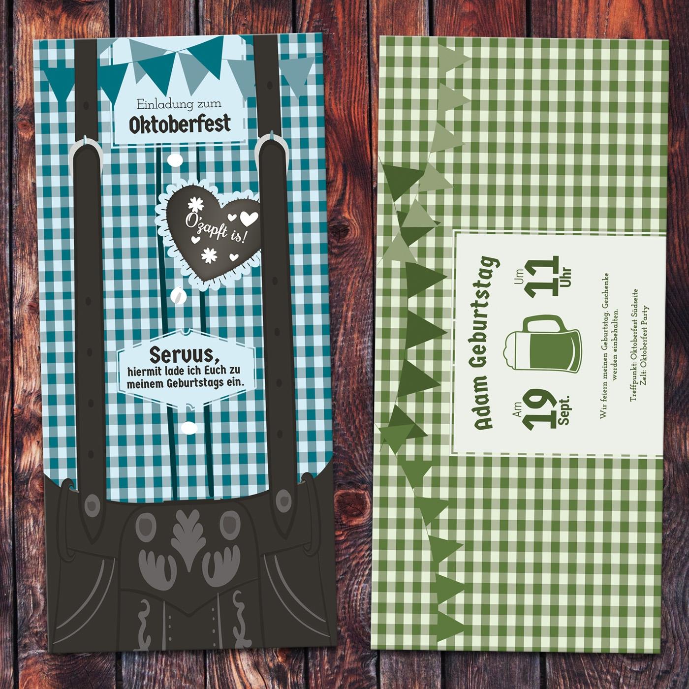 oktoberfest einladungskarten designideen. Black Bedroom Furniture Sets. Home Design Ideas