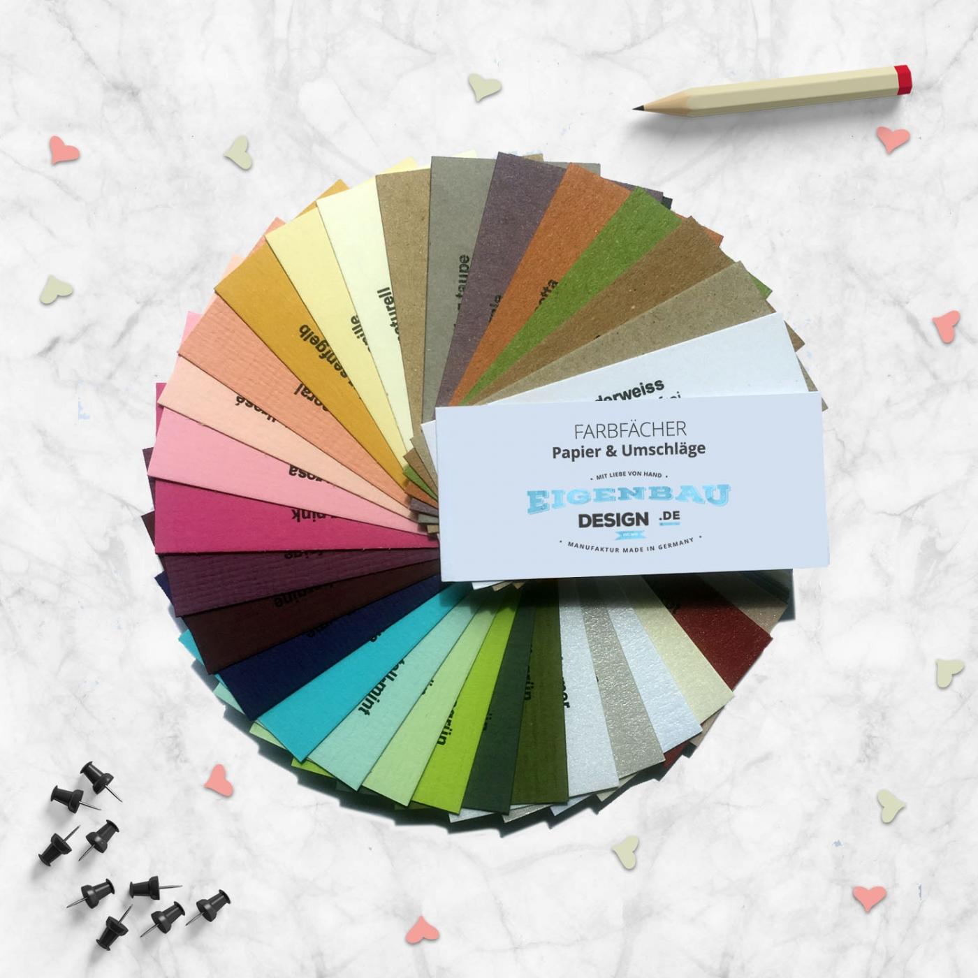 Papier & Umschläge FarbMuster