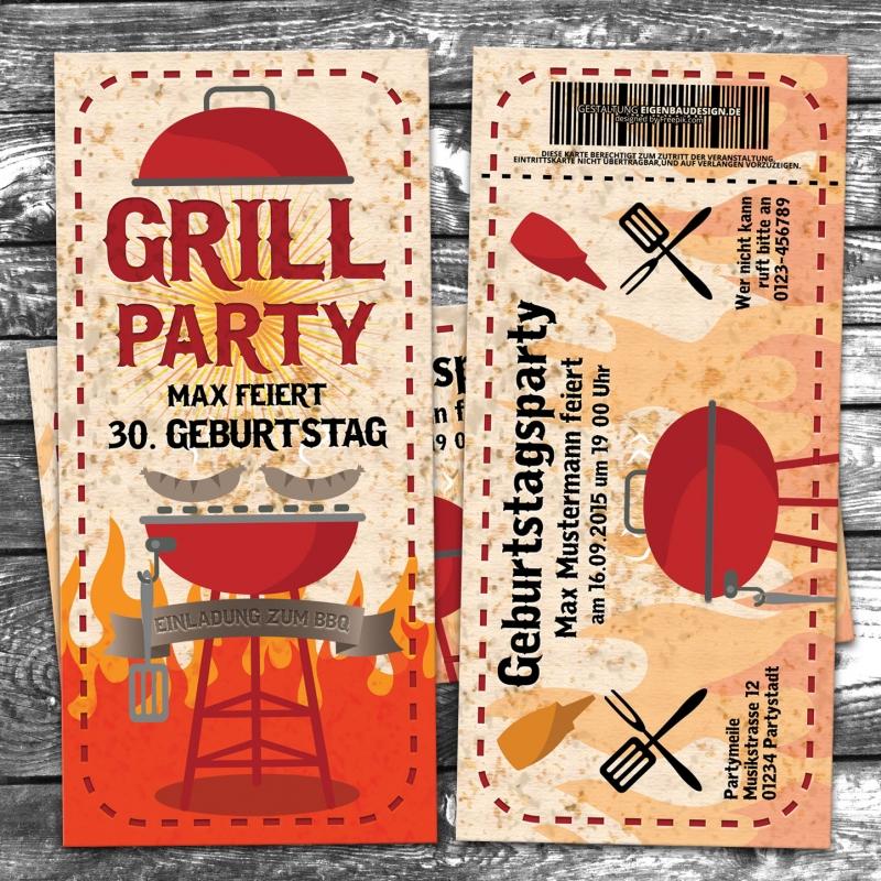 party einladungskarten - eigenbaudesign.de - eigenbaudesign manufaktur, Haus und garten