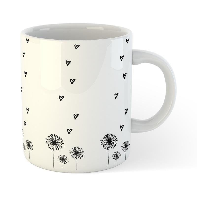 Kaffee Tee Tasse Blume