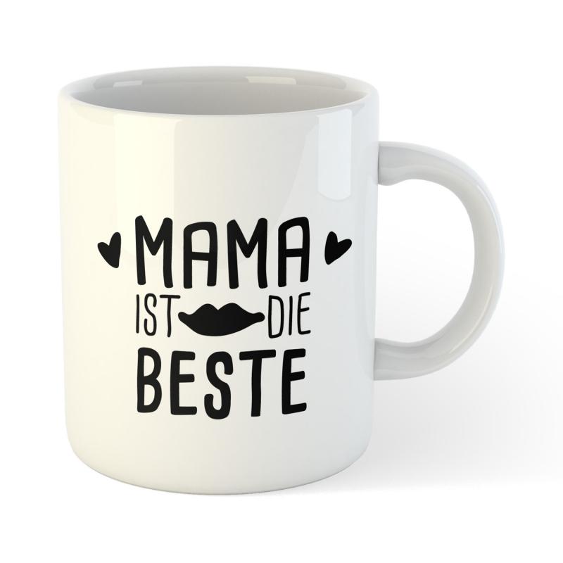 Kaffee Tee Glas Mama ist die Beste