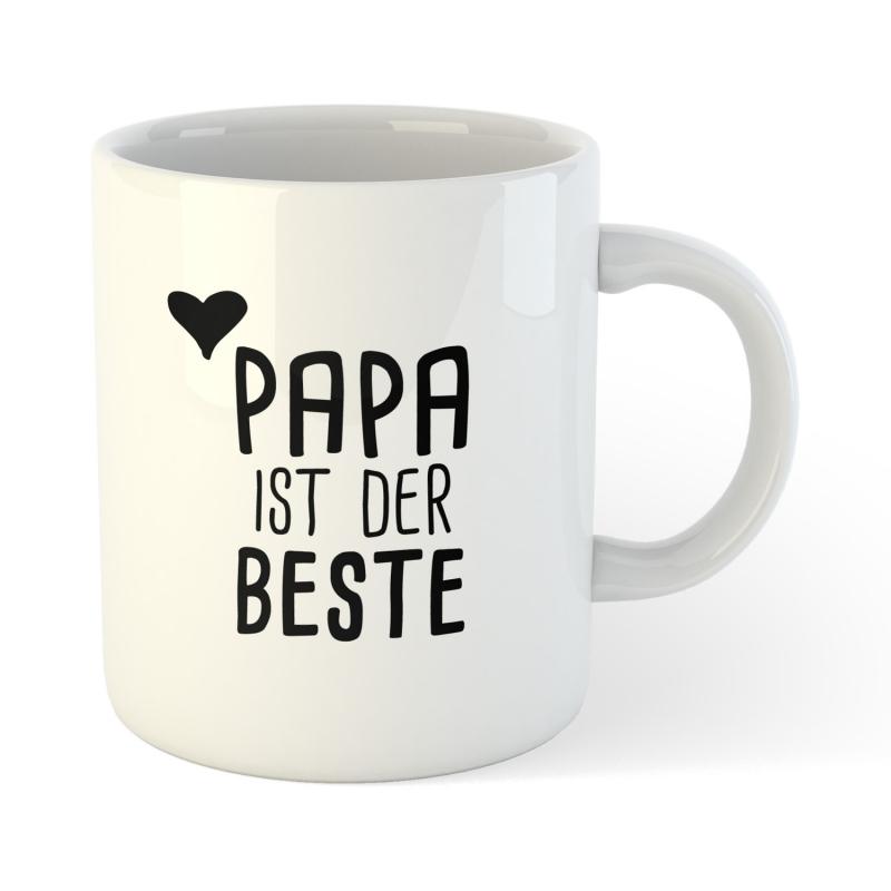 Kaffee Tee Becher Papa ist der Beste