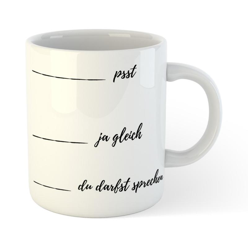 KaffeBecher TeeBecher psst