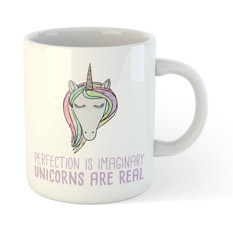 KaffeBecher TeeBecher Unicorn are real