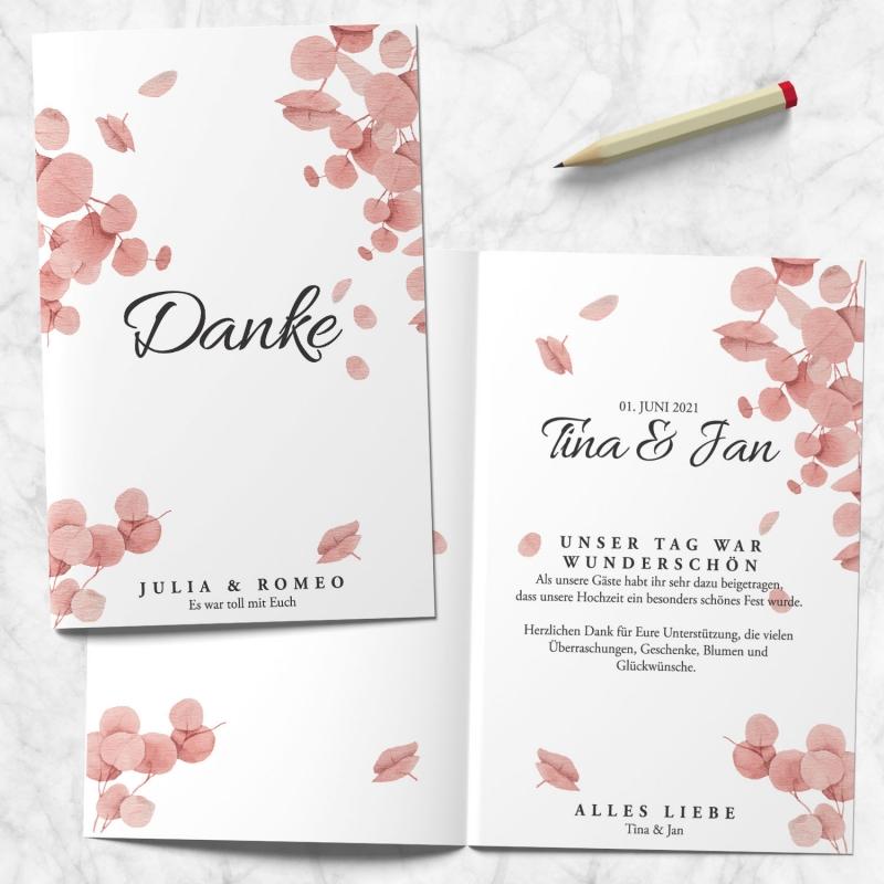 Dankeskarte Hochzeitspapeterie