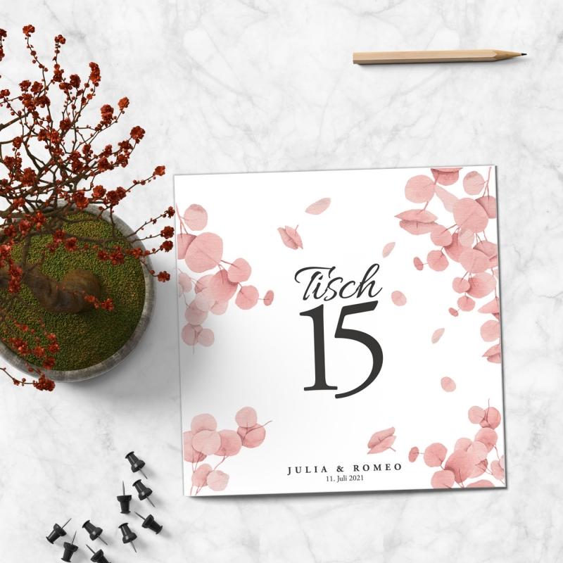 Tischkarte Hochzeitspapeterie
